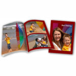 Softcover family photos book