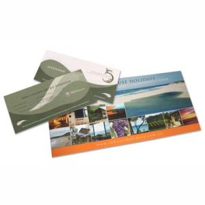 promotion and publicity brochure